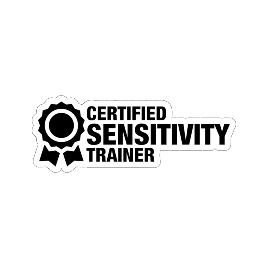 Sensitivity Trainer - Hard Hat Stickers