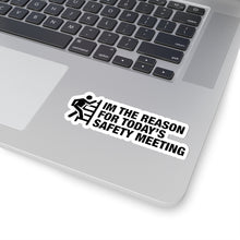 Load image into Gallery viewer, Safety Meeting - Construction Stickers