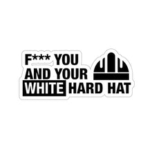 Load image into Gallery viewer, White Hard Hat - Hard Hat Sticker