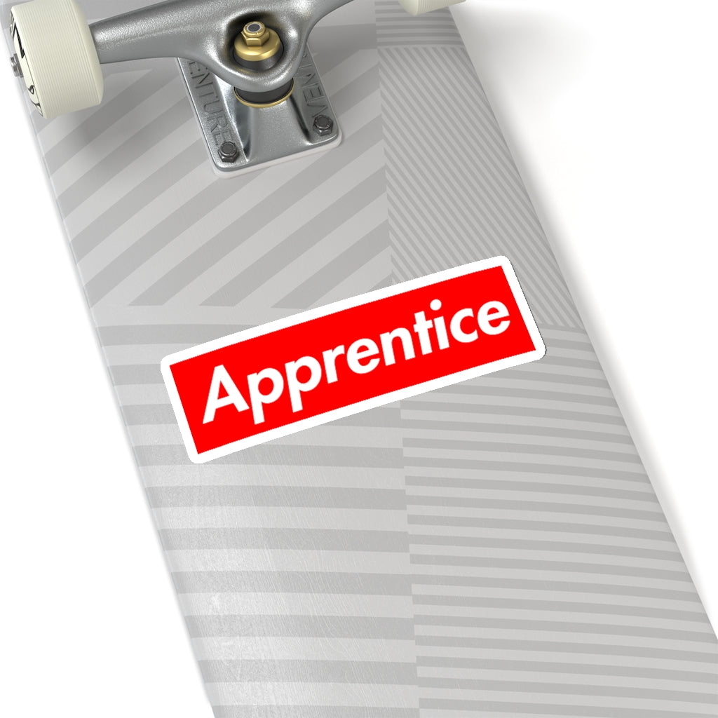 Apprentice - Hard Hat Stickers