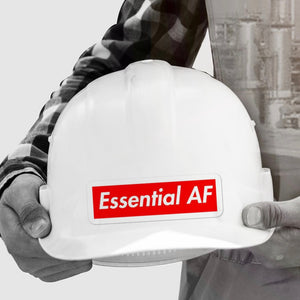Essential AF - Construction Stickers