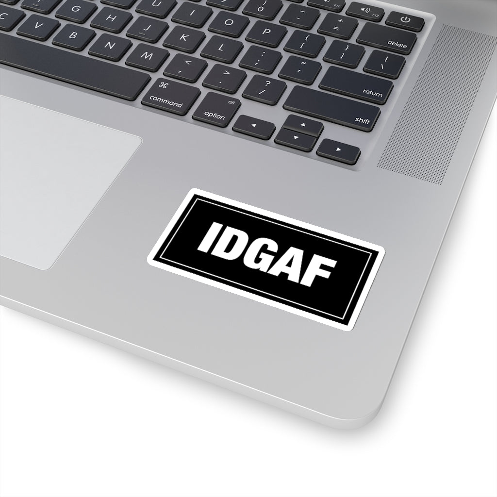IDGAF - Construction Stickers