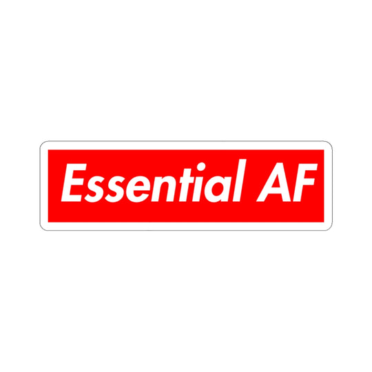 Essential AF - Hard Hat Stickers