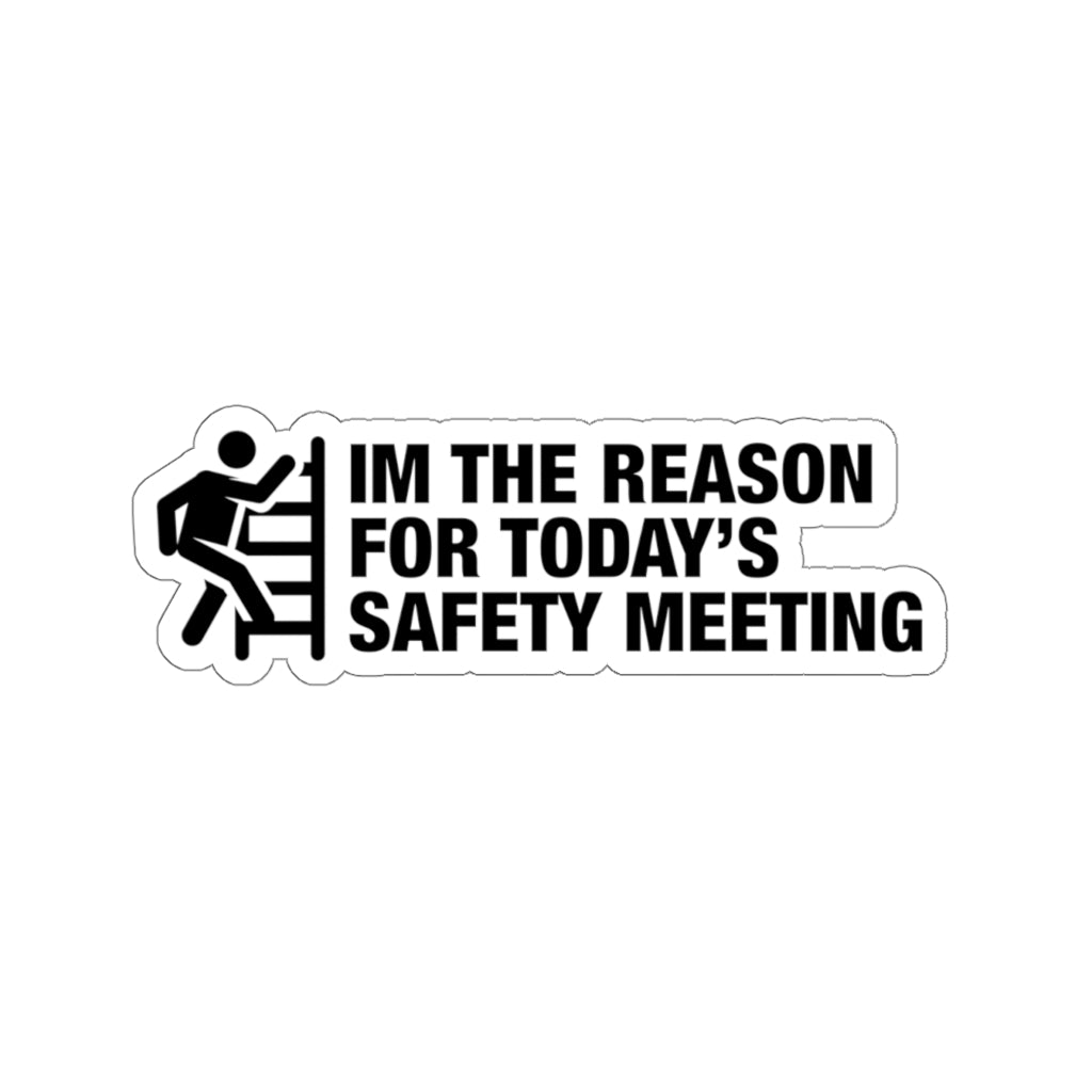 Safety Meeting - Construction Stickers