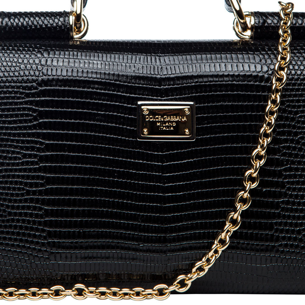 Dolce & Gabbana mini 'Von' crossbody - black