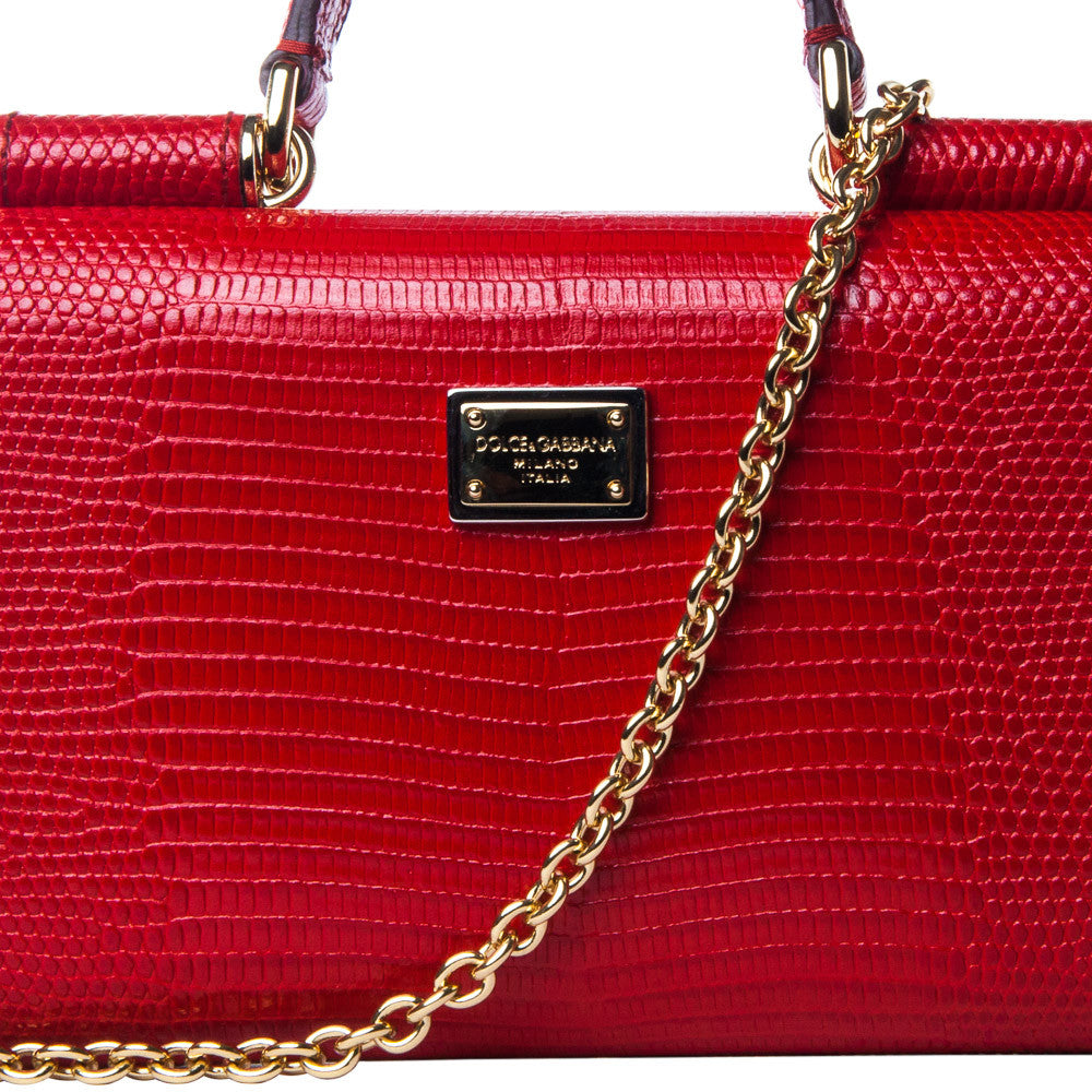 Dolce & Gabbana mini 'Von' crossbody - red