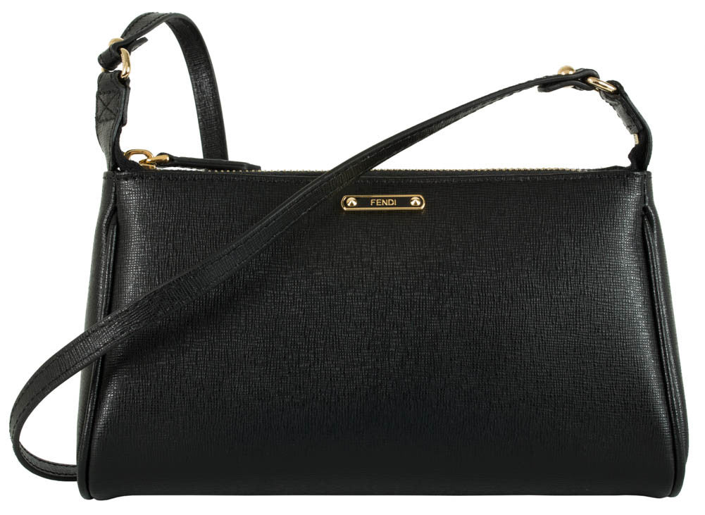 Fendi Mini Pouch Shoulder Bag - Nero