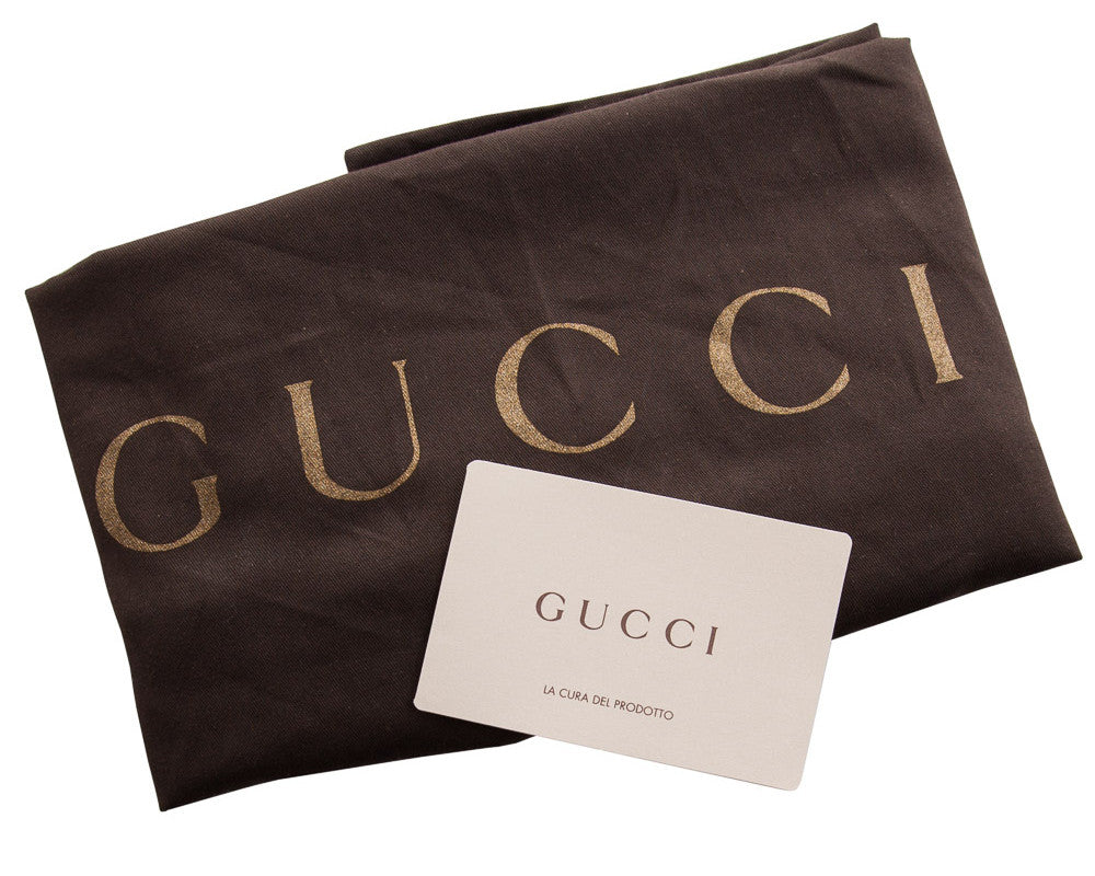 Gucci Swing Medium Leather Tote Shoulder Bag