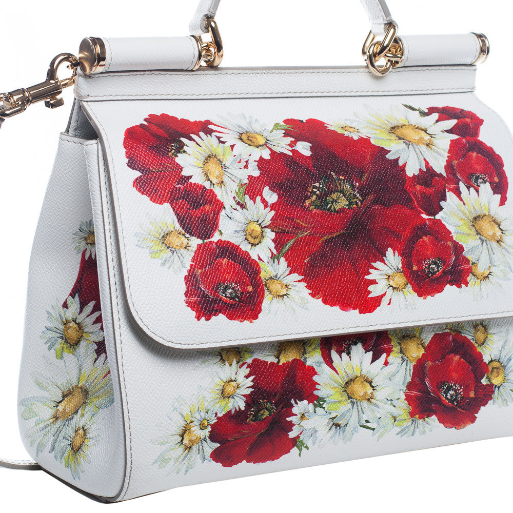 Dolce Gabbana Medium Sicily Tote - Floral