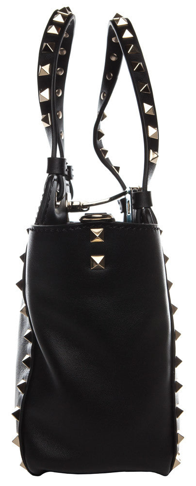 Valentino Rockstud Mini Black Tote Bag