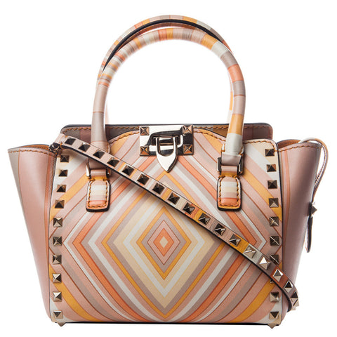 Valentino Native Couture 1975 Mini Double Handle Shoulder Bag