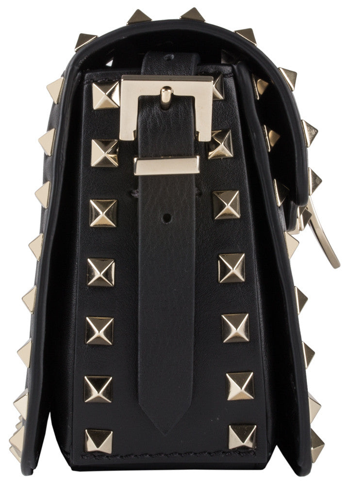 Valentino Rockstud Mini Black Cross Body Bag