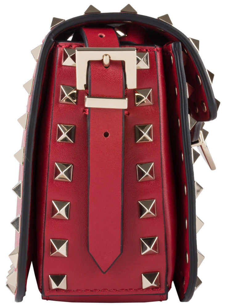 Valentino Rockstud Mini Red Cross Body Bag