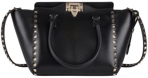 Valentino Small Double Handle Tote Shoulder Bag
