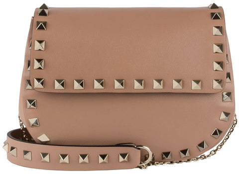Valentino Small Chain Noisette Cross Body Bag