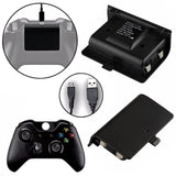 2 x 2400mAh Batteries + USB Cable For XBOX ONE Controller