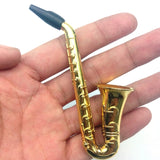 New Fashion 1pcs Small Saxophone Portable Pipes