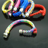 Fashion Bracelets Smoke Pipe Rope Portable Metal Pipes