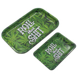 weed accessories Metal Tobacco Rolling Tray