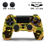 Soft Silicone Rubber Skin Case For PS4 Controller