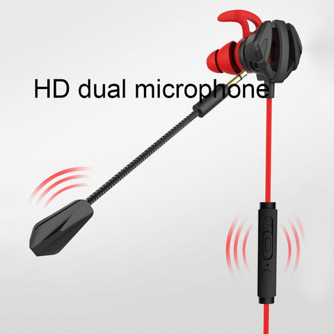 Portable Dynamic Noise Reduction Wired Headphones