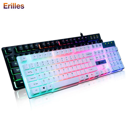 Wired Keyboard and Mouse Gaming For PC