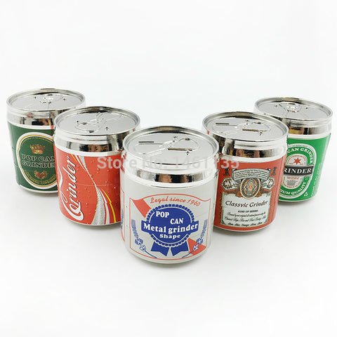multilayer aluminum beer cans weed grinders