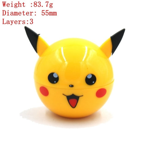3 Parts Pokeball Grinder & others