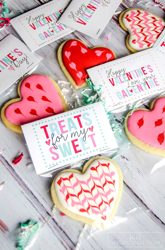 "Free ""Treats for My Sweet"" Valentine"