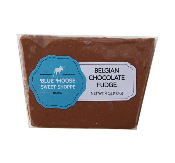 Blue Moose Belgian Chocolate Fudge