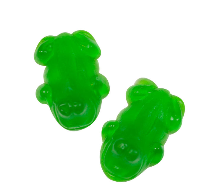 Small Green Frog Gummy Paintcan