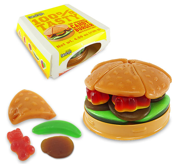 Gummy Large Hamburger 6.4 oz