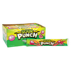 Watermelon Sour Punch Straws 2 oz