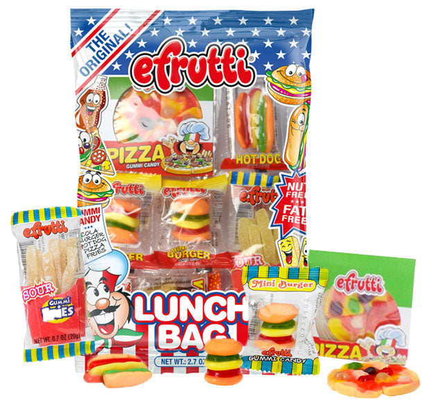 E Frutti Gummy Lunch Bag