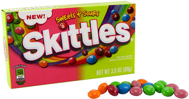 Sweet and Sour Skittles Theater Box