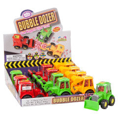 Bubble Dozer Gum Bucket Filled Truck .25oz