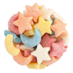 Sour Gummy Stars and Moons
