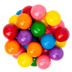 Assorted Rainbow Small Gumballs