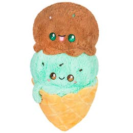 Squishable Comfort Food Ice Cream Waffle Cone- LARGE