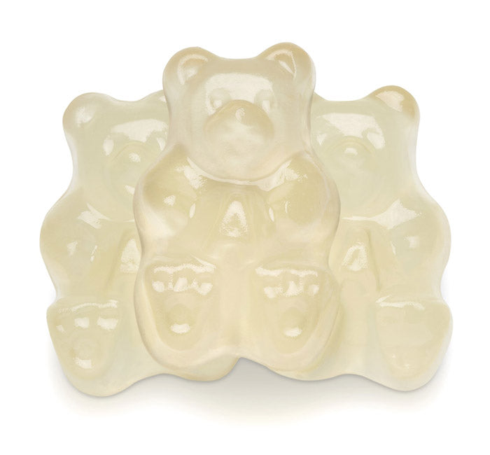 Clear Pineapple Gummi Bears