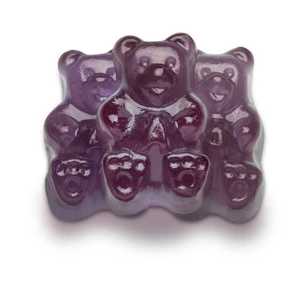 Purple Grape Gummi Bears