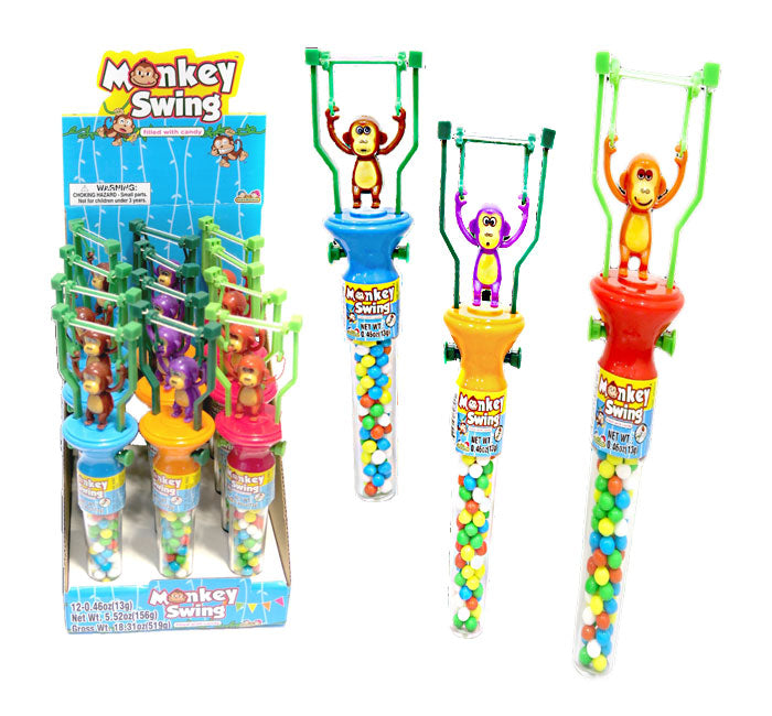 Monkey Swing Toy with Candy