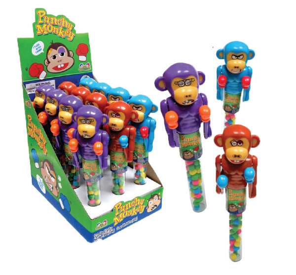 Punchy Monkey Toy with Candy