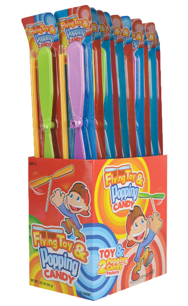 Flying Toy and Popping Candy