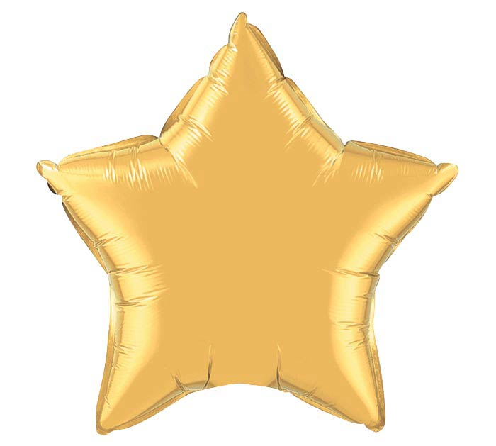 "36"" Gold Star Giant Balloon"