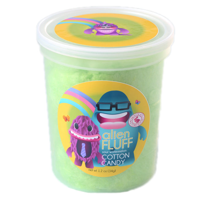 Alien Sour Watermelon Cotton Candy