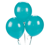 "12"" Balloon Bouquets in Sorority Colors (3)"