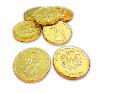 Fiesta Chocolate Gold Coins