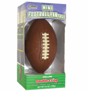 Mini Football Fantasy Chocolate Football 5.5 oz