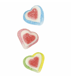 Triple Heart Gummies Candygram